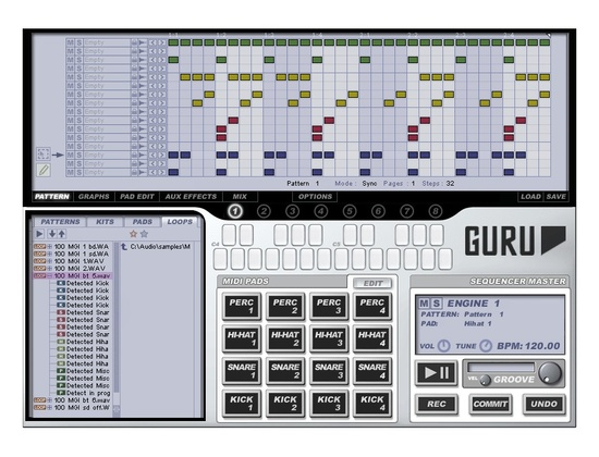 FXpansion Guru Beat Creation Software Instrument