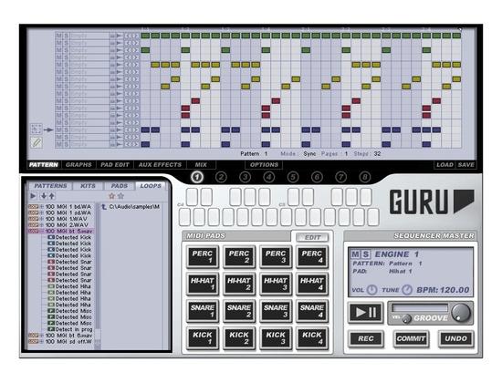FXpansion Guru Beat Creation Software Instrument