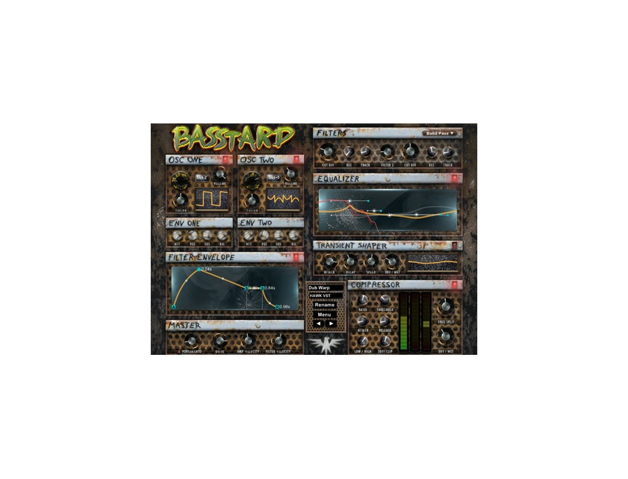 Hawk VST Basstard Monophonic Synth