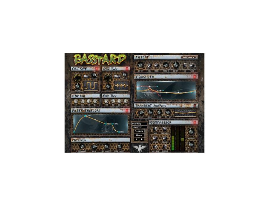 Hawk VST Basstard Monophonic Synth