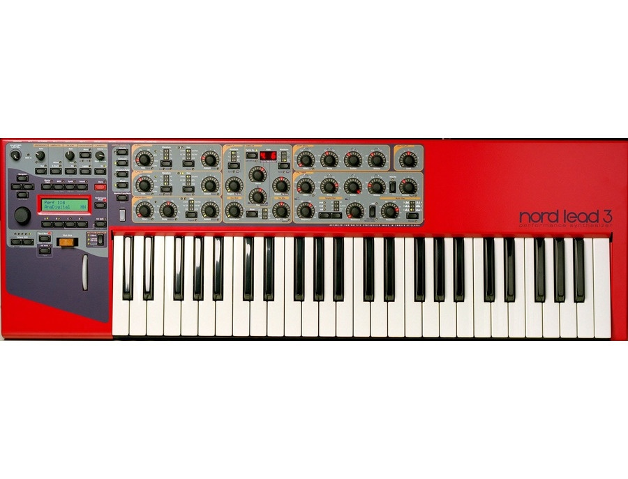 Clavia nord lead 3 synthesizer xl