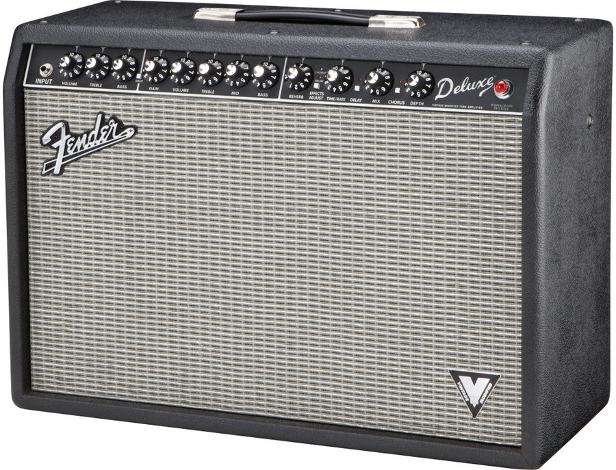 Fender Deluxe VM 40W 1x12 Tube Guitar Combo Amp