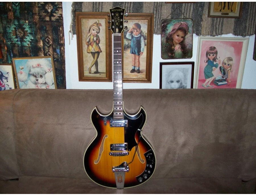 Hofner 4578 VTZ Thinline Electric Guitar