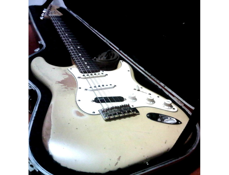 Modified Fender Stratocaster Highway 1