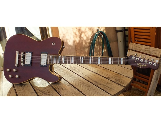 Squier Master Chambered Tele HH