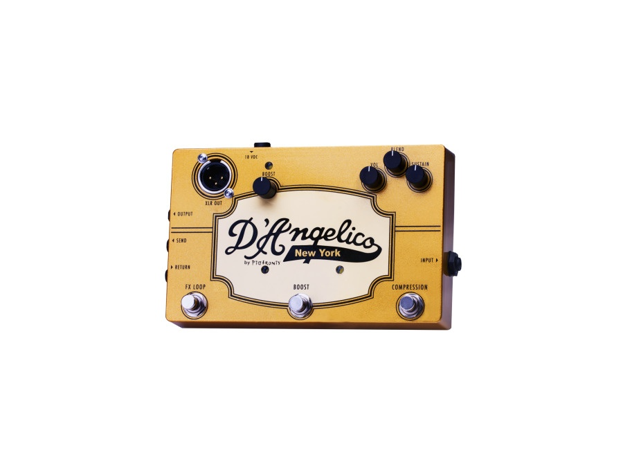 D'Angelico/Pigtronix Jazz Pedal