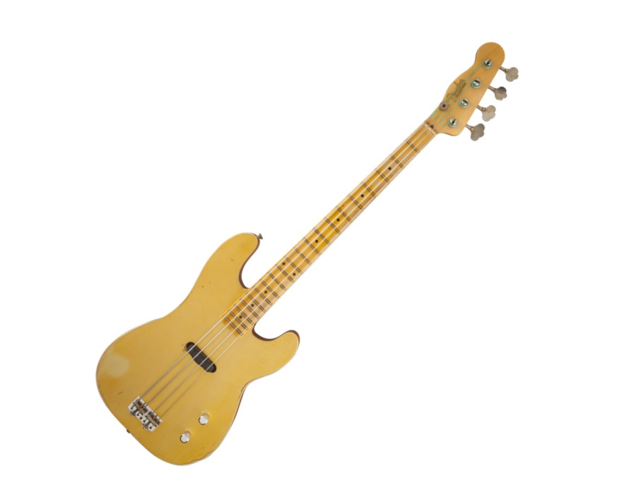 Fender Limited Gold Top Dusty Hill Precision Bass