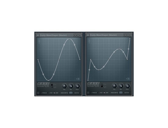Fruity Waveshaper Distortion Plugin
