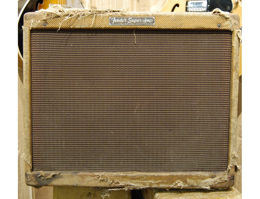 1957 Fender Tweed Super Amp