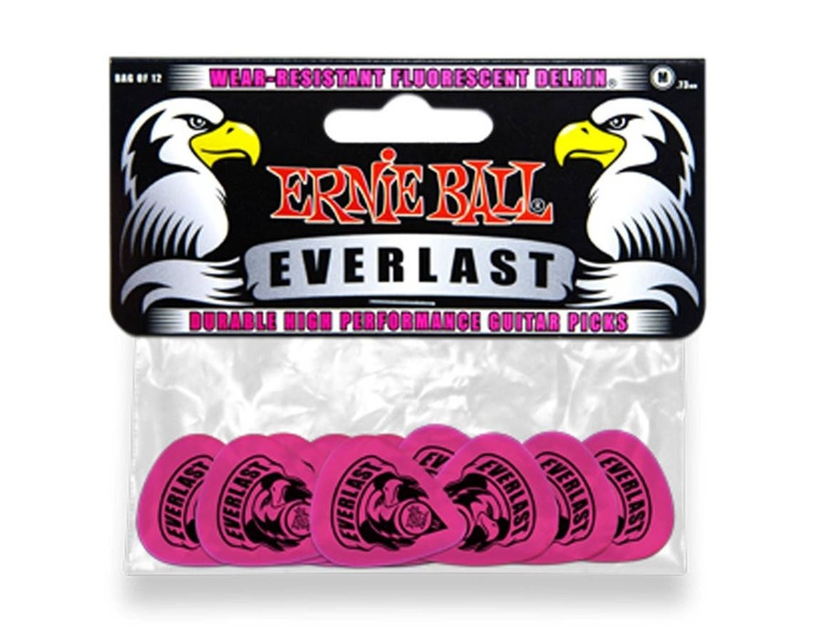 Ernie Ball 9189 Everlast Medium Pink Delrin