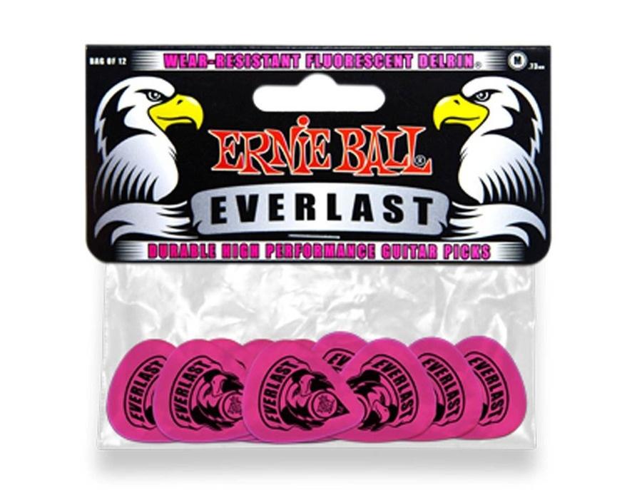 Ernie Ball 9189 Everlast Medium Pink Delrin
