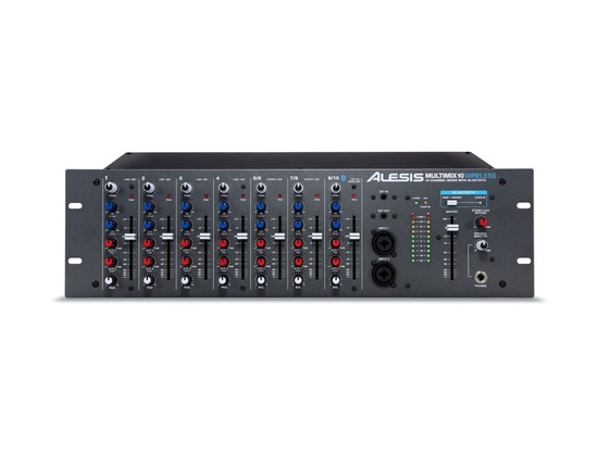 Alesis Multimix 10 Wireless 10-Channel Mixer with Bluetooth
