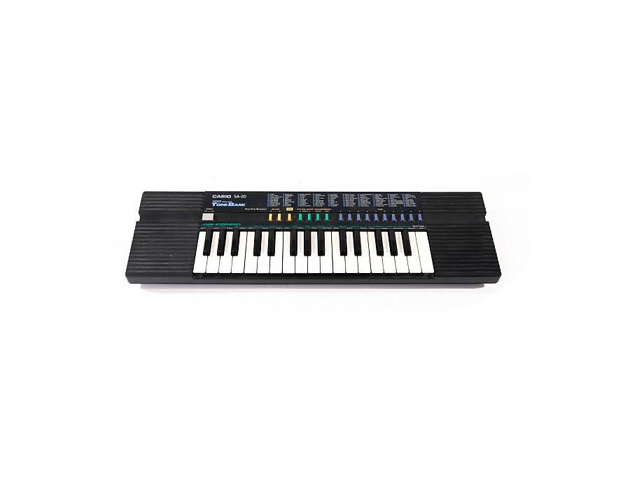 Casio SA-20 Mini Keyboard