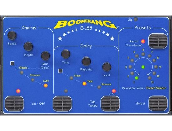 Boomerang E-155 Chorus/Delay Pedal