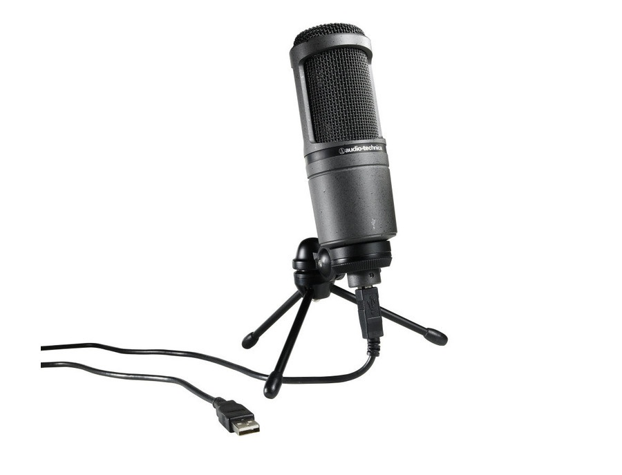 Audio technica at2020usb cardioid condenser usb microphone xl