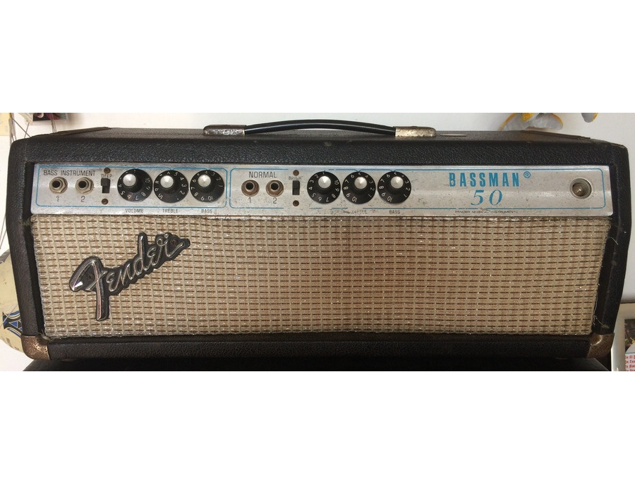 Fender bassman 50 silverface xl