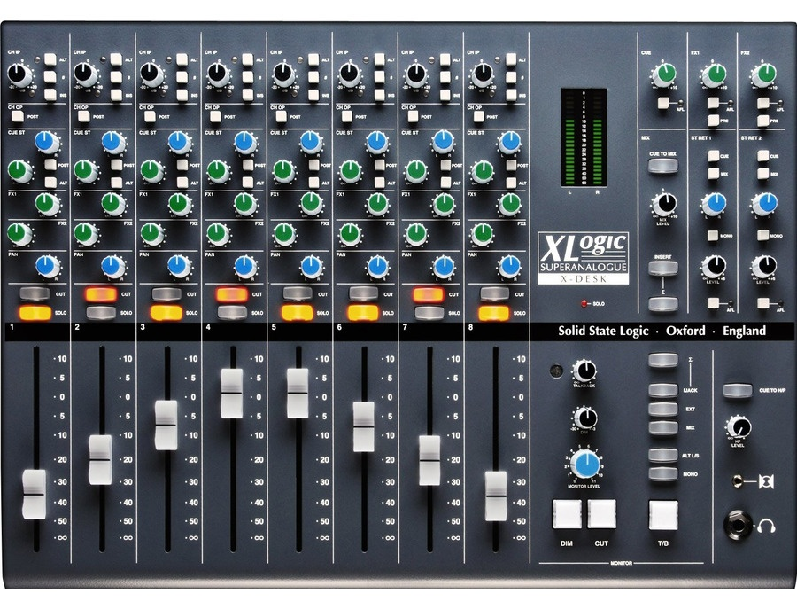 Solid State Logic X-Desk 16-channel Analogue Mixer