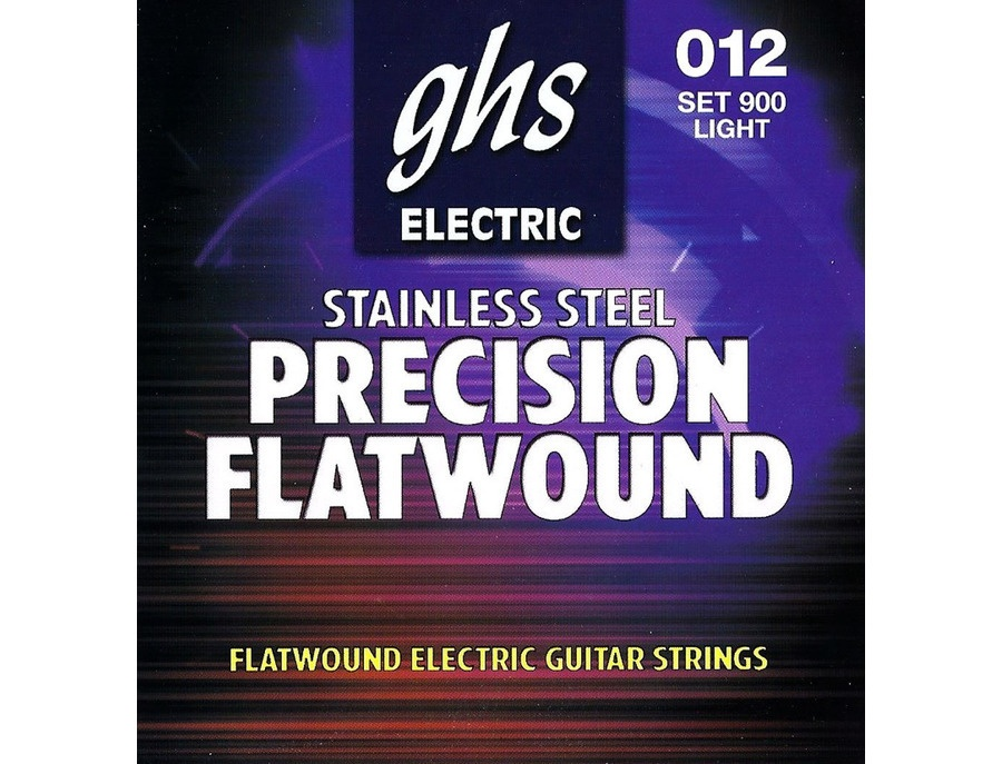 GHS Strings Electric guitar (Flatwound Light)