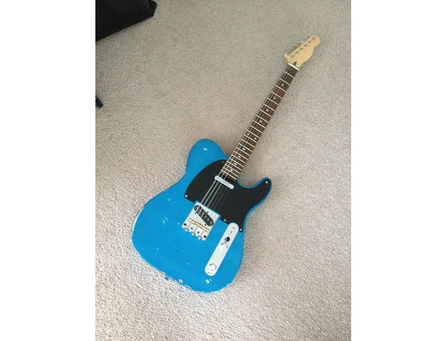 Lake Placid Blue Relic Partscaster