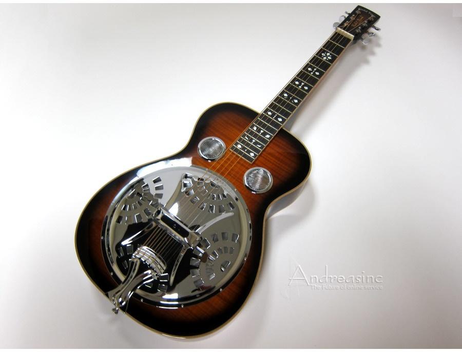 Gold tone pbs d resonator guitar xl