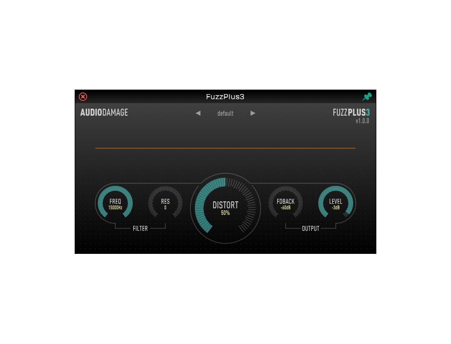 Audio Damage FuzzPlus 3