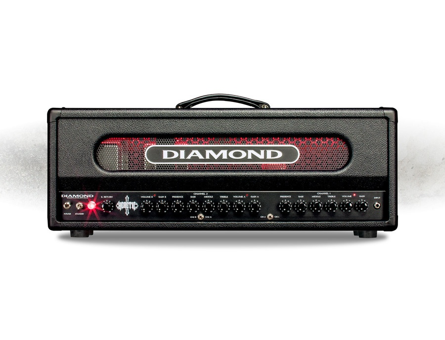 Diamond Heretic 100W Tube Guitar Amp Head