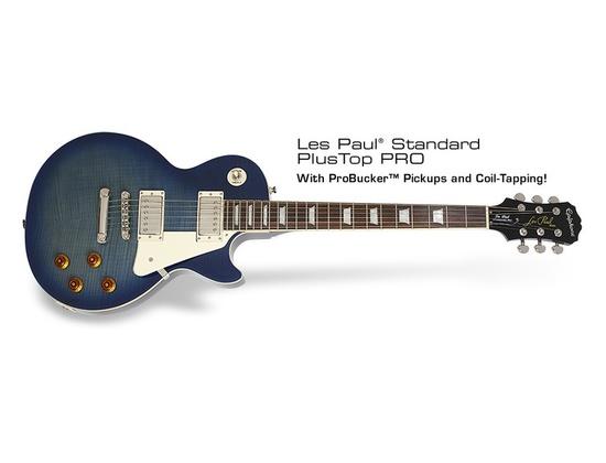 Epiphone Les Paul Standard Plus Top Pro trans blue