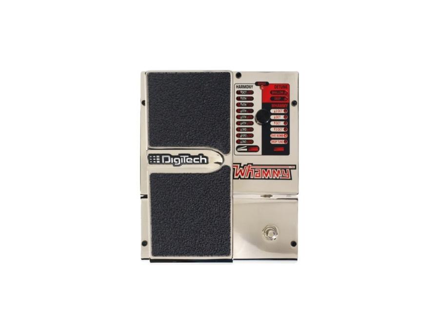 Digitech 20th anniversary chrome whammy pedal xl
