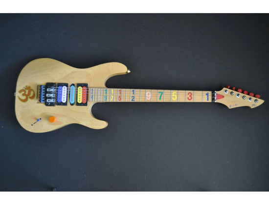 peavey numbers guitar prototype