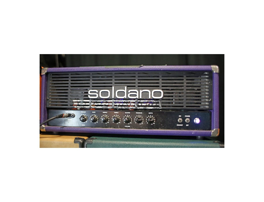 Purple 100-watt Soldano Avenger Head