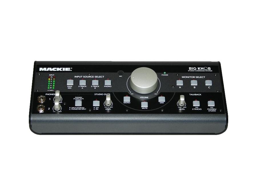 Mackie big knob studio command system xl