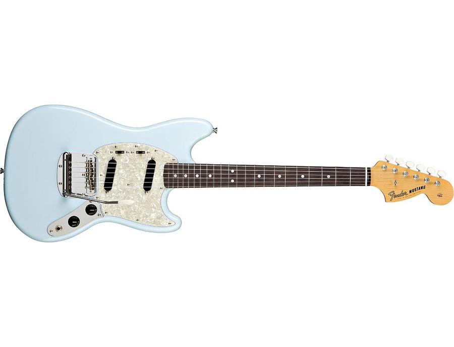 Sonic Blue Fender Mustang