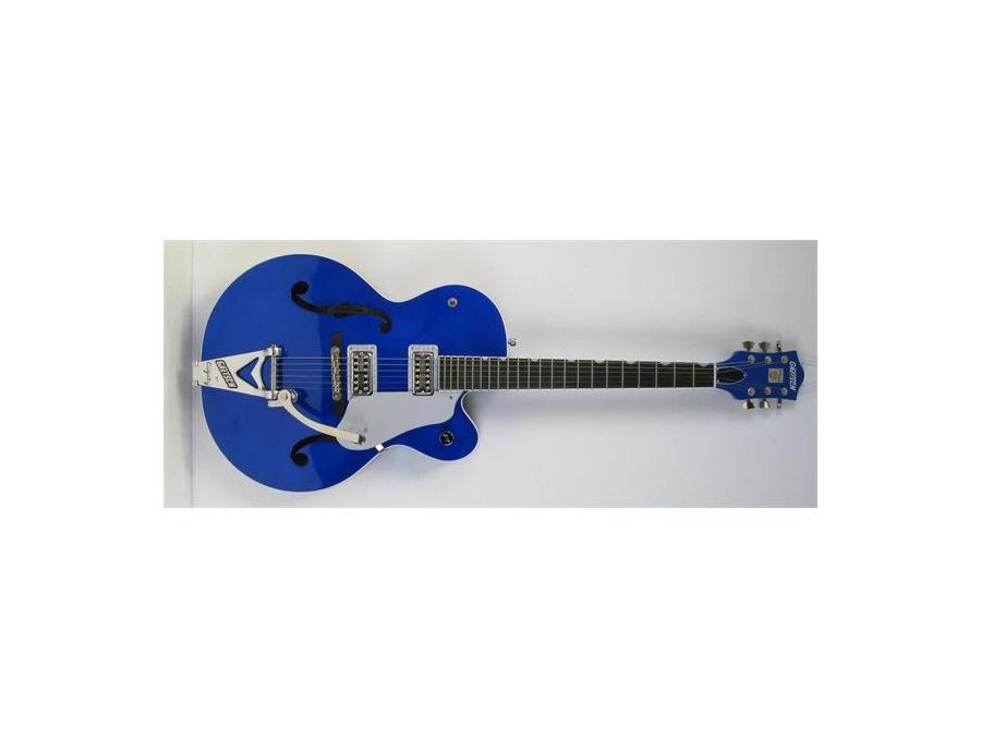 Gretsch G6120SHBTB Brian Setzer Hot Rod Electric Guitar Regal Blue