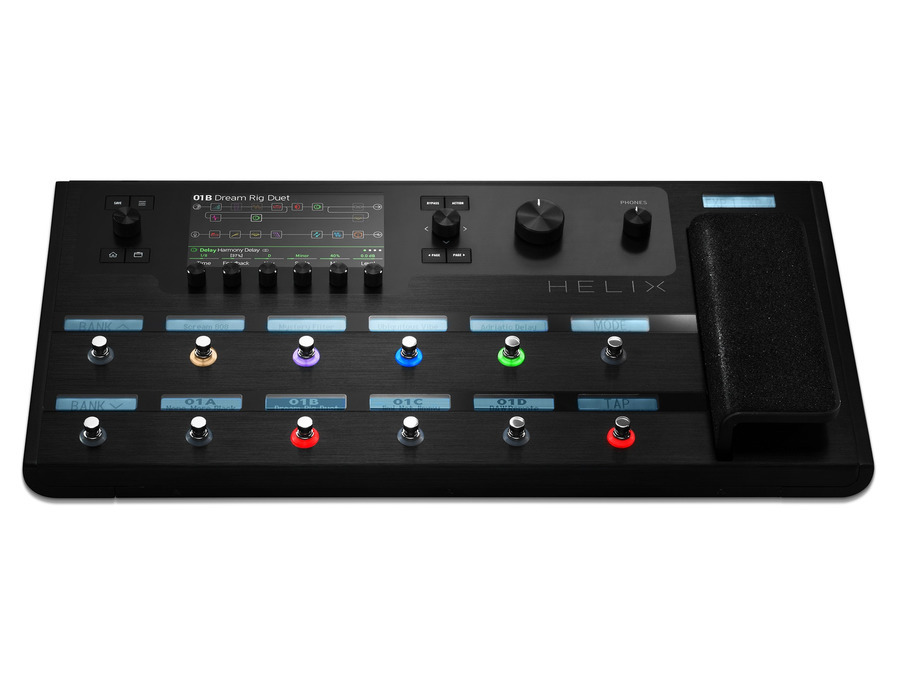 Line 6 helix guitar multi effects floor processor xl