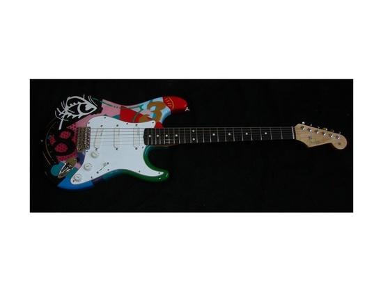 """Fender Stratocaster """"Crashocaster"""" 83"""