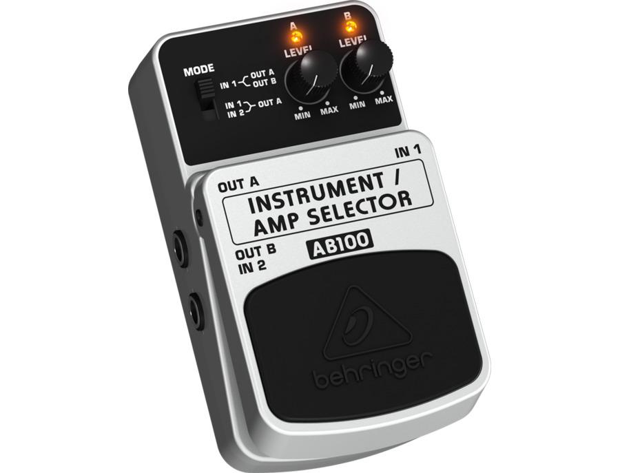 Behringer ab100 instrument amp selector xl