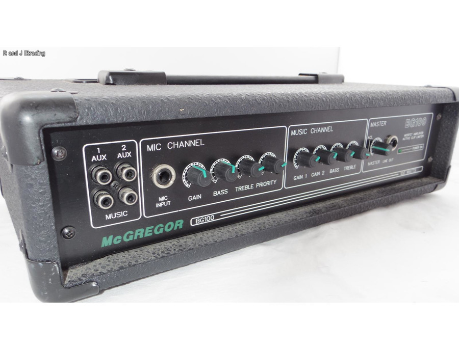 McGregor BG100 Amp/Mixer