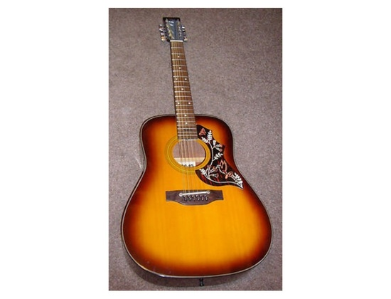 "KAY K520-12 ""HUMMINGBIRD"" ACOUSTIC 12 STRING"