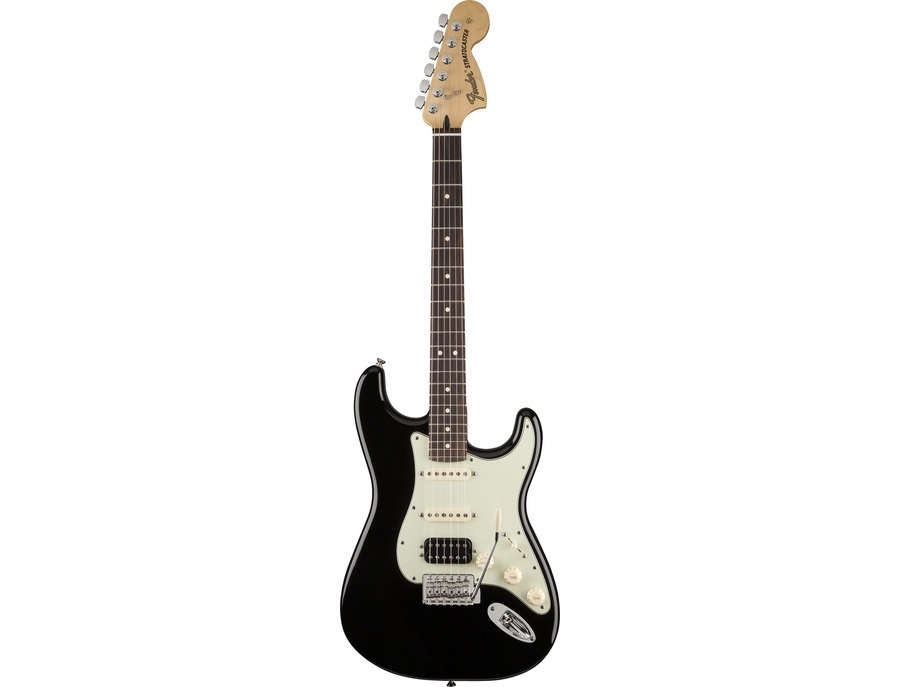 fender deluxe lone star stratocaster black reviews prices equipboard. Black Bedroom Furniture Sets. Home Design Ideas