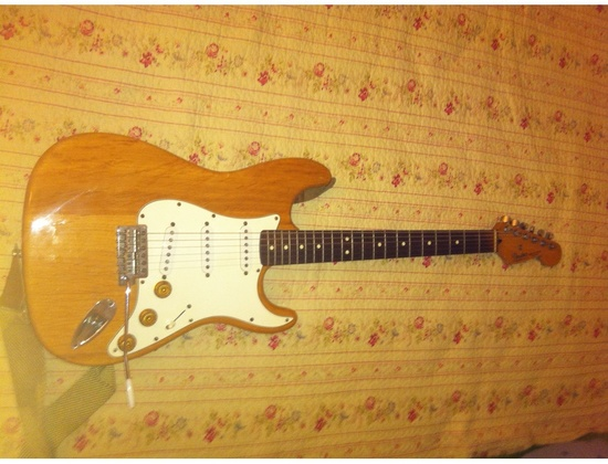 Fender Mexican Stratocaster Clear Finish