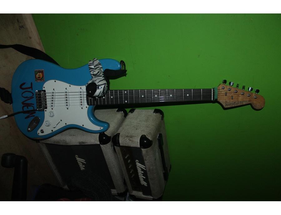"Steeler Stratocaster ""Joven Shuerloco"""