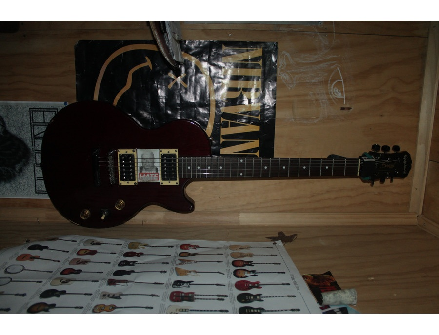 "Epiphone Specia 2 Red Wine ""SPECIAL HATE"""