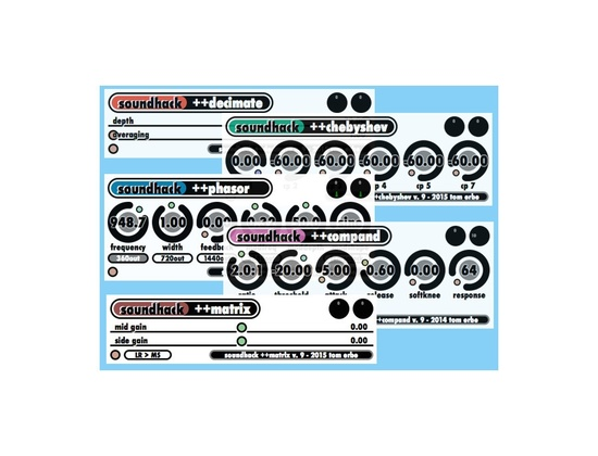 SoundHack Freesound Bundle 9.01