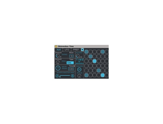 Ableton Max for Live Time & Timbre by Skinnerbox