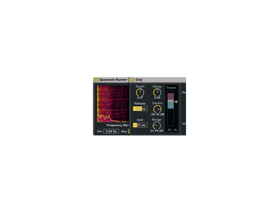Ableton max for live spectrum effects v 2 by amazing noises xl