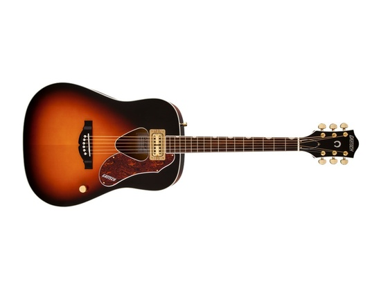 G5031FT Rancher™ Dreadnought, Fideli'Tron™ Pickup, Rosewood Fingerboard, Sunburst
