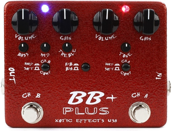 Xotic Effects BB Plus Preamp and Boost