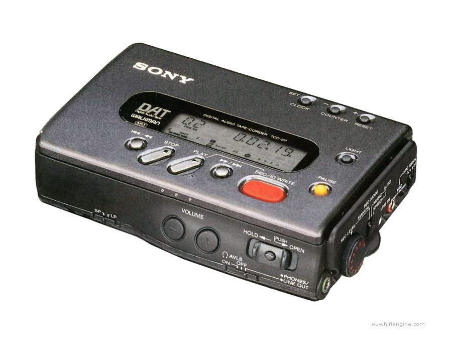 Sony tcd d7 dat xl