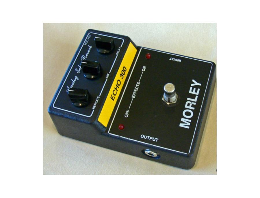 Morely MOD-AER Echo 300 (Analog Echo Reverb) pedal