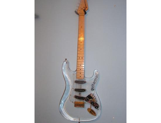 Plexiglass Guitarman